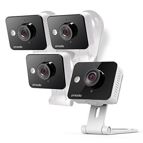 Zmodo Wireless Two-Way Audio HD Home Security Camera (4 Pack) with Night Vision