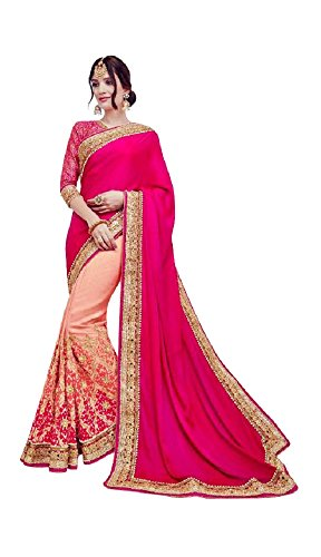 Aarah Women's Ethnic Wedding And Festival Wear Saree Indian Traditional Handmade Free - Online Indian Shopping