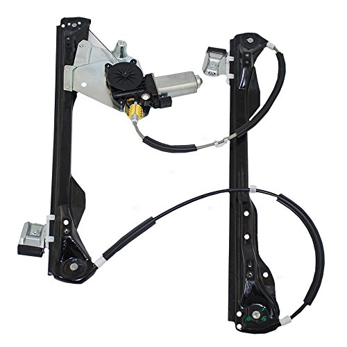 Drivers Front Power Window Lift Regulator with Motor Assembly Replacement for Ford Focus 4-Door Sedan Wagon Hatchback 6S4Z5423201BB AutoAndArt ()