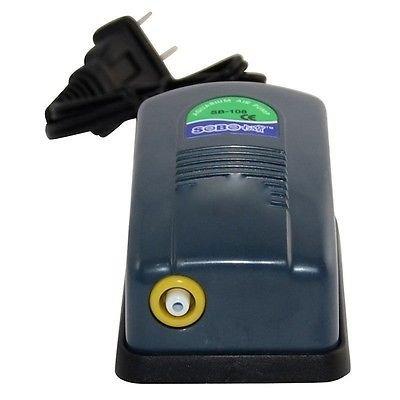 Bomba compresor de aire 1 Salida 3L/min 2,5W oxigenador acuario y gambario