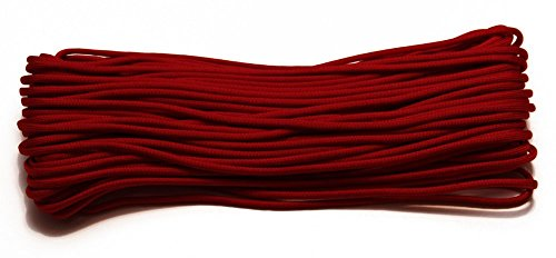 (50 Ft. Nylon Paracord - 7 Strand 550 Type III Commercial Grade (Imperial)