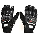 Autofurnish Pro-Biker Motorcycle Riding Gloves (Black, XL)