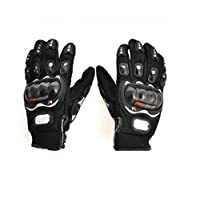Autofurnish AF968 Fabric Gloves (Black, XL)