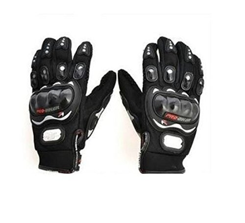 Autofurnish Pro-Biker Motorcycle Riding Gloves (Black, XL)