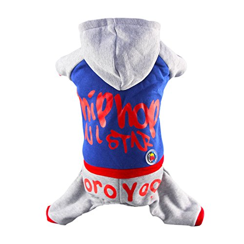 [Royal Wise Windproof Dog Vest Winter Coat Warm Dog Apparel for Cold Weather Dog Jacket for Extra Small Medium dogs with soft Hat (S - M )] (18 Month Frog Costume)