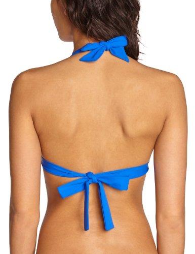Livia - Parte superior del bikini para mujer Azul (Roy Santorin)