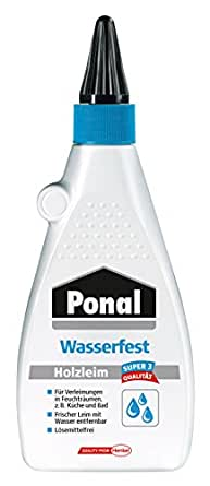 Henkel PN10S Ponal - Cola para madera (resistente al agua, 550 g)
