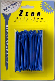Zero Friction 2 3/4'' Golf Tees 40 count BLUE