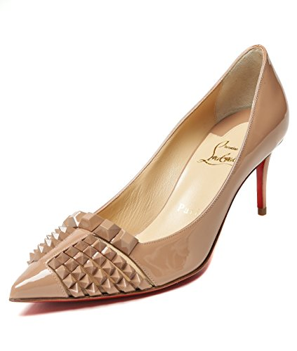 wiberlux-christian-louboutin-womens-stud-detailed-pointed-toe-real-leather-stilettos-36-pink-beige
