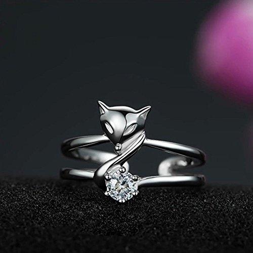 Sumanee Elegant Jewelry Party Fox Ring