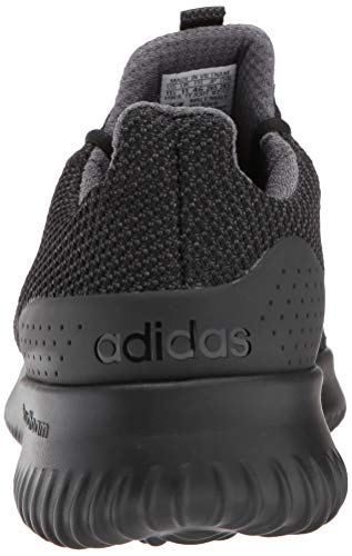 adidas Men's Cloudfoam Ultimate Running Shoe Utility Black, 9.5 M US by adidas (Image #2)