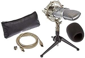 Bad Axx BA-UM600-KIT Studio USB Cardioid Condenser Microphone Kit