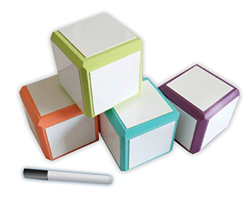 Mind Sparks Foam Dry Erase Blocks - Large Die