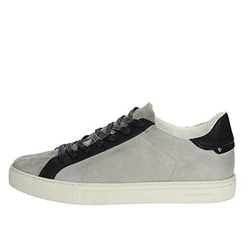 Crime London 11216KS1.30 Sneakers Bassa Uomo Grigio chiaro