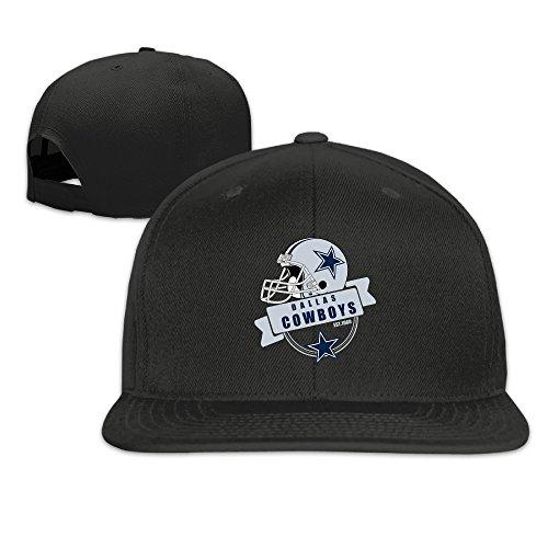 LINNA Custom Unisex-Adult Dallas Sport Football Logo Flat Brim Trucker Caps - Ray Dallas Ban