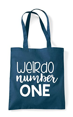 Best Petrol Number Bag Statement Friends Bff Tote Shopper Weirdo One Matching aAq1Ax
