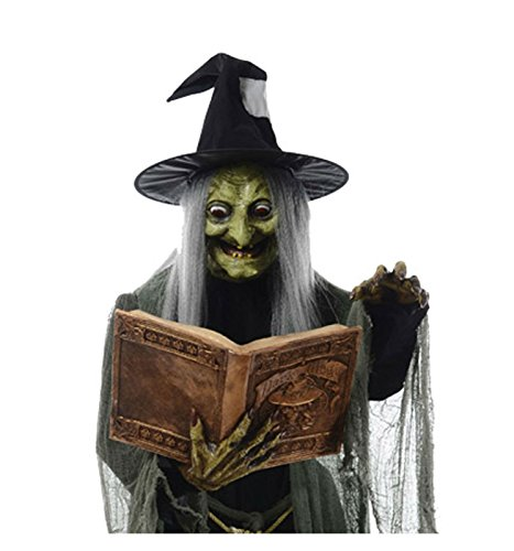Spell Speaking Witch Prop Decoration - 5-feet-8-inches -