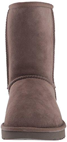 Short Classic Women's High II Ugg Marron Boot Top Metallic Sheepskin EURqZw