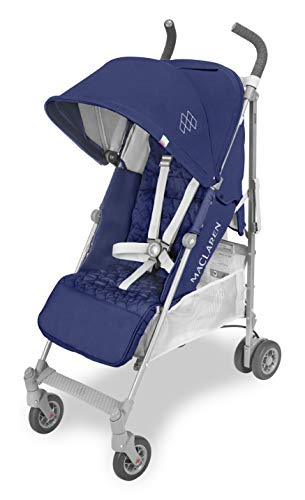 Maclaren Quest - Silla de paseo para recien nacidos hasta los 25kg, asiento multiposicion, suspension en las 4 ruedas, capota extensible con UPF 50+