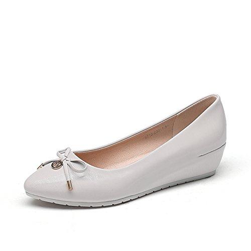 Europa y la caída de zapatos/Mujer tacones/Asakuchi arco alto redondo zapato cabeza B
