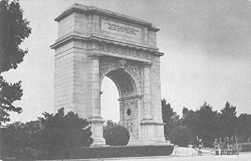 Valley Forge Pennsylvania Boy Scouts National Jamboree Arch Postcard J927875