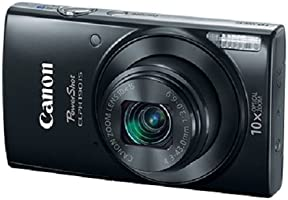 Canon PowerShot ELPH 190 Digital Camera w/ 10x Optical Zoom and Image Stabilization - Wi-Fi & NFC Enabled (Black)