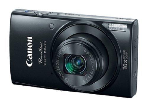 Cámaras Canon US 1084C001 Cámara digital Canon PowerShot ELPH 190 con zoom óptico de 10x y estabilización de imagen - Wi-Fi y NFC habilitados (Negro)