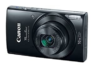Canon PowerShot ELPH 190 IS (Black) with 10x Optical Zoom and Built-In Wi-Fi
