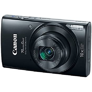 Canon Cameras US 1084C001 Canon PowerShot ELPH 190 Digital Camera w/10x Optical Zoom and Image Stabilization - Wi-Fi & NFC Enabled (Black)