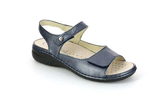 Grunland SE0171 LABA Sandalo Donna P. BLU 40 jvKhExFt