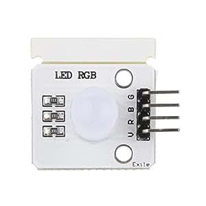 10mm RGB A Todo Color Llevó LED Módulo Placa para 51 / AVR / Brazo / Arduino