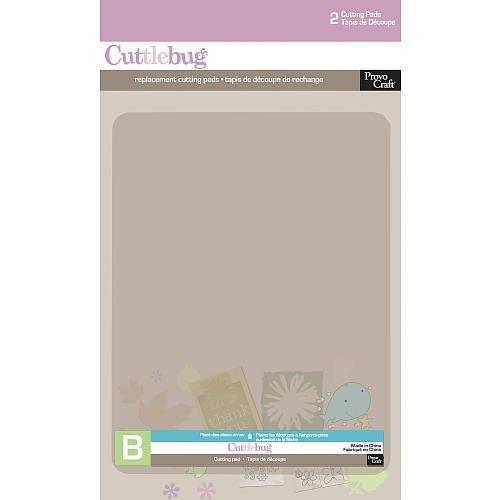 Cuttlebug Cutting Plate B 6x8 2/Pkg-