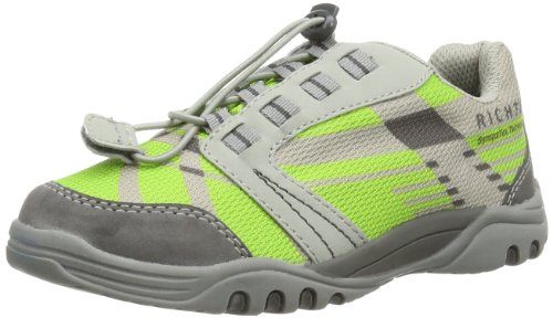 Richter Kinderschuhe Sprint 6524-321-6901 Jungen Outdoor-Fitnessschuhe, Blau (cobalt/steel/rock 6901), EU 35 Grün (apple/steel/rock 5801)