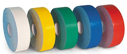 Armadillo Green Heavy Duty Safety Aisle Corridor Tape for Work and Parking 3-Inch x 108 Foot Roll by Armadillo (Image #3)