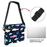 Cpmputer Carrying Case Cartoon Color Marine Animals Compatible with 13-13.3 inch MacBook Pro, MacBook Air,Notebook Computer 11x15in