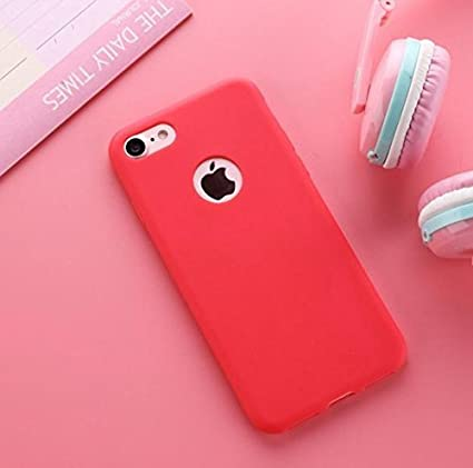 best service 30c95 e5928 ORAS iPhone 5s Luxury Style Ultra Thin Soft TPU Back Case cover For iPhone  5 / SE -( Pink Colour, Coral Red )