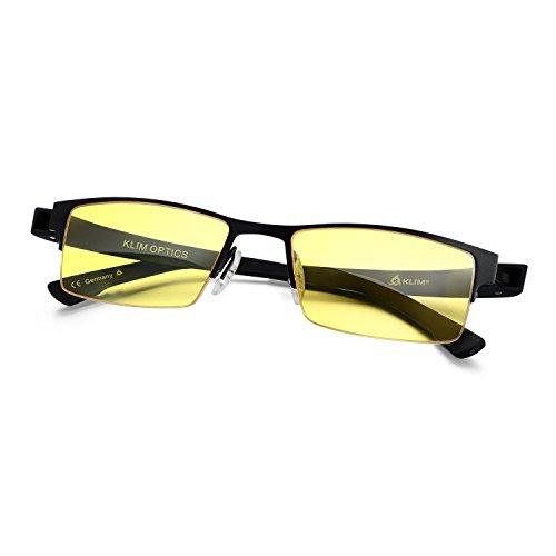 0dd4aedb2a1 â ï¸ KLIM Optics Blue Light Blocking Glasses - High protection for screen - Blue  Blocker Gaming Glasses PC Mobile TV - Anti Eye Fatigue Anti UV Blue Light  ...