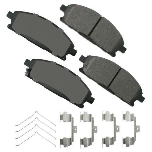 Akebono ACT1649 Ultra premium Brake pad Set