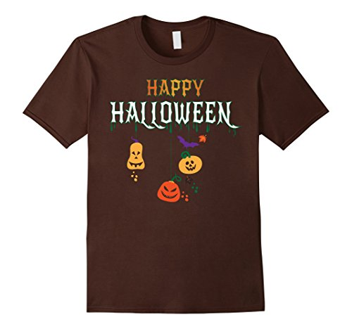 Mother And Son Halloween Costume Ideas (Mens HAPPY HALLOWEEN WITCH PUMPKIN - THIS IS MY HALLOWEEN COSTUME Small Brown)