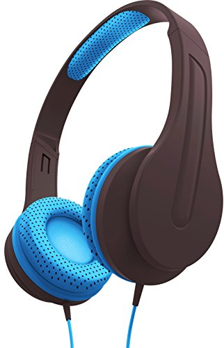 sharper-image-shp50gybl-universal-premium-deep-bass-headphones-with-mic-compatible-with-all-devices-