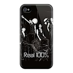 Curry-cases Design High Quality Black Veil Band Cover Case With Excellent Style For Iphone 4/4s