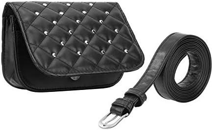 Peanutaso Spring Korean Fashion Women Color sólido Soft PU Leather Waist Bag Casual Ladies Fanny Pack Waist Bag Pouch Phone Bag: Amazon.es: Hogar