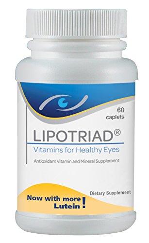 Lipotriad vitamines pour la santé des yeux - supplément de multivitamines et minéraux antioxydant - *** SUMMER SALE ***-ct 60