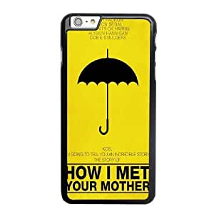 Generic Fashion Hard Back Case Cover Fit for iPhone 6 6S 4.7 inch Cell Phone Case black How I Met Your Mother with Free Tempered Glass Screen Protector EUI-8482990