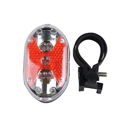 ManalaSa USB 9LED de luz Trasera de la Bici Recargable Potente Seguridad Impermeables luz Trasera roja