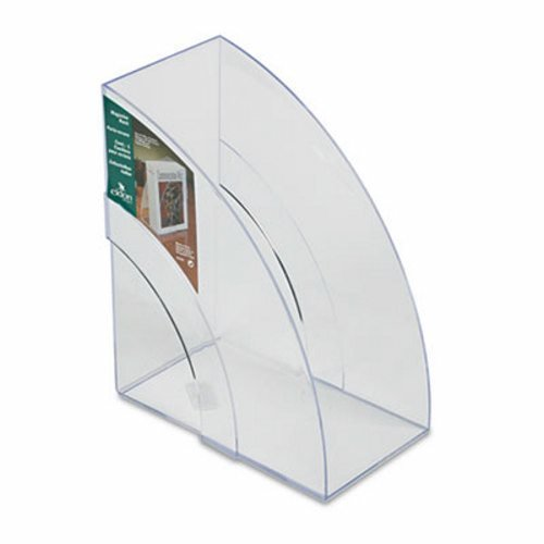 Rubbermaid Optimizers Deluxe Plastic Magazine Rack RUB96502ROS, Model: Rubbermaid_96502ROS_X, Office/School Supply Store