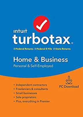 Home and Business 2019 Tax Software Licence for 1PC, 5 Federal Efile + State Download [PC DOWNLOAD]