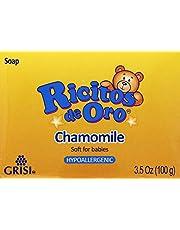 Ricitos De Oro Hypoallergenic Sensitive Baby Soap 3.5 oz