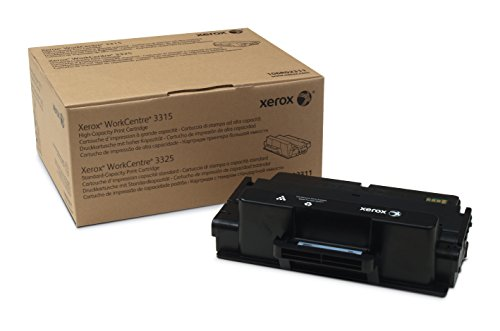 Genuine Xerox Black Standard Capacity Print Cartridge, WorkCentre 3325, Black High Capacity Print Cartridge WorkCentre 3315, 106R02311 by Xerox