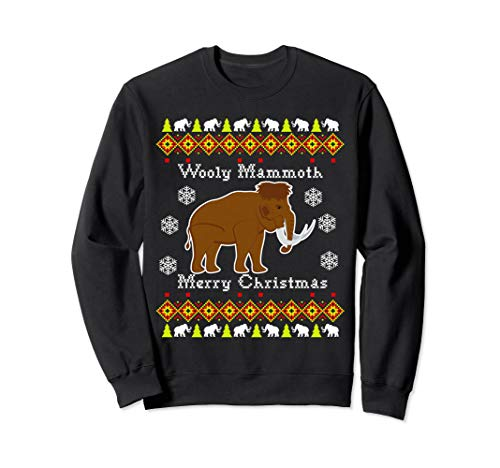 Wooly Mammoth Ugly Christmas Swe...